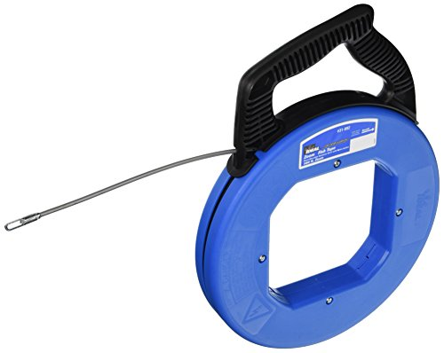 (Ideal 31-092 Tuff-Grip Zoom Fish Tapes with Eyelet End Type, 100' Length)