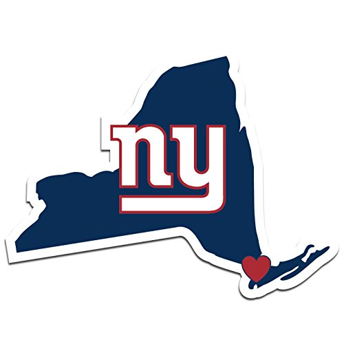- NFL New York Giants Home State Decal, 5