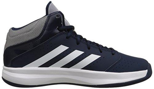 Adidas Performance Menns Isolasjon To Basketball Sko Kollegialt Marineblå Blå / Hvit / Lys Grå