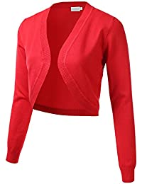 Amazon.com: Reds - Shrugs / Sweaters: Clothing, Shoes & Jewelry