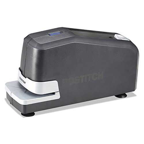 (Electric Stapler, Standard Staples, 20Sht Cap, 210 Cap,Black)