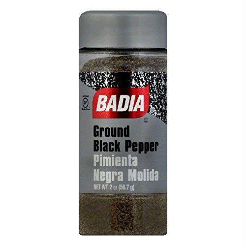 Badia Pepper Black Ground, 2 oz