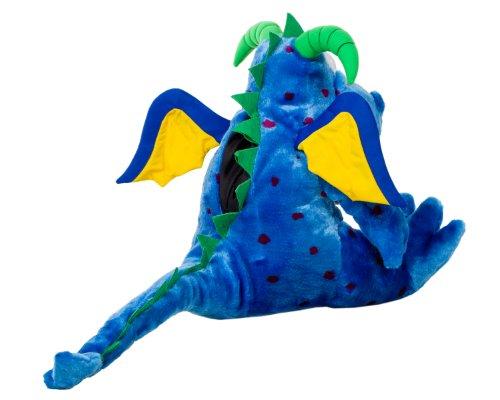 Oral Health Presentation Puppet Magi Dragon Educational Plush by StarSmilez (Image #2)
