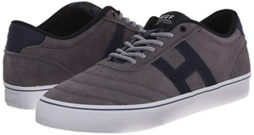 HUF Skateboard Shoes GALAXY MID GRAY / DARK NAVY Size 8