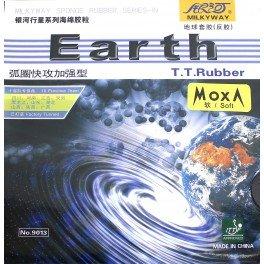 Galaxy / Milkyway Earth Table Tennisラバー B00ZB9XAD4 ブラック Medium (36-38 deg)