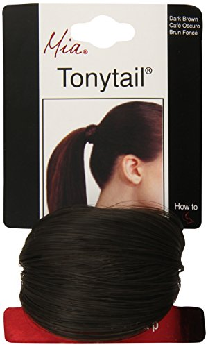 Tonytail Ponytail Wrap Dark Brown product image