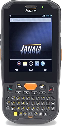 Janam XM5-ZQHARDGV00 Series XM5 Handheld Computing Devices, Android JB 4.2, 1D Laser Scanner, UMTS/HSDPA/HSUPA/GSM, 802.11ABGN, GPS, HD RFID, Camera, 4000 mAh, Qwerty Keypad by JANAM