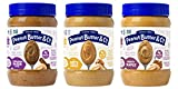 Peanut Butter & Co. Breakfast Variety Pack, Gluten Free, 16 oz Jars (Pack of 3)