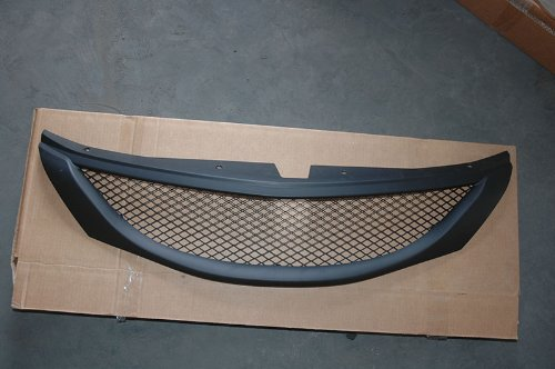 2008 Subaru Impreza Wrx Wagon (Generic 1pc Black Coated Finish ABS Plastic JDM Sport Mesh Style Badgeless Grille Fit 08-10 Subaru Impreza WRX Sedan/hatchback (Wagon) 08-11 Impreza Sedan/hatchback)