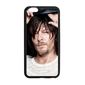 Onshop Custom Walking Dead Norman Reedus Phone Case Laser Technology for iPhone 6 Plus 5.5""