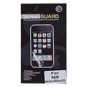3 Pcs Professional Diamond Pattern Film Anti-Glare LCD Screen Guard Protector for Samsung Galaxy Discover S730M/S750
