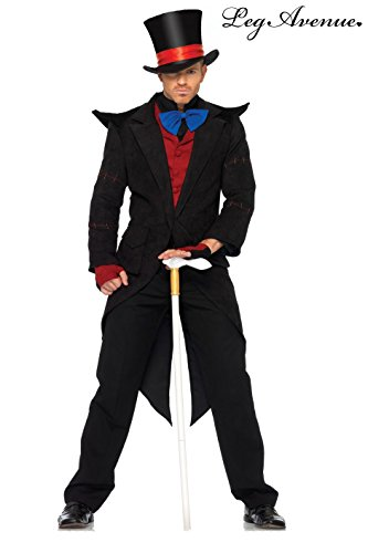 Evil Mad Hatter Adult Costume - X-Large -