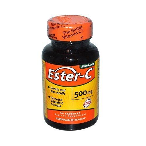 American Health Ester C 500 Mg 60 Cap by American Health