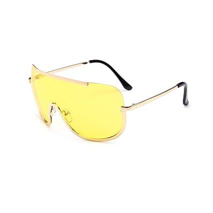 codice promozionale 4613a 97938 fish Donna Big Metal Frame Siamesi Lente degli Occhiali da ...
