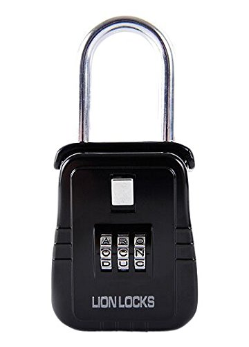 Lion Locks 2100 Hanging Lock Box / Padlock with Alpha Key St