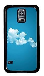 Samsung Galaxy S5 Beautiful Clouds PC Custom Samsung Galaxy S5 Case Cover Black
