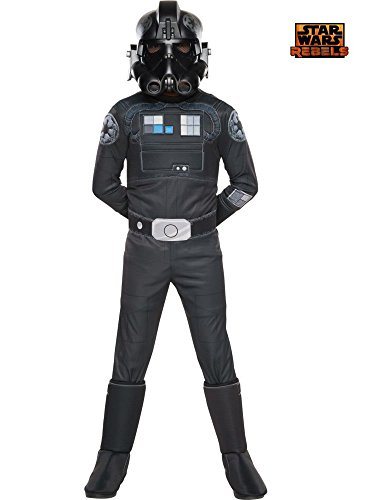 Rubie's Star Wars Rebels Tie Fighter Pilot Deluxe Child Costume, Small]()