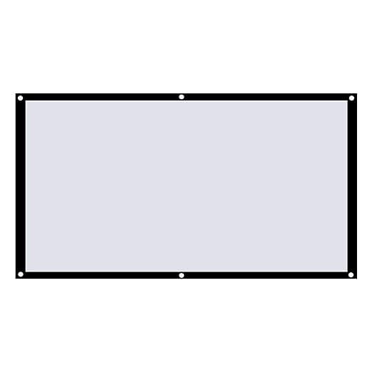 DGdolph Pantalla de proyección casera 16: 9 Pantalla de Video de ...
