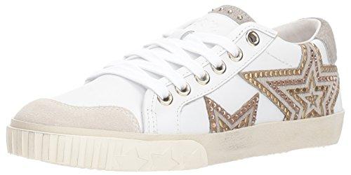 Ash Women's AS-Magic Sneaker, White/Pearl, 37 M EU (7 US)