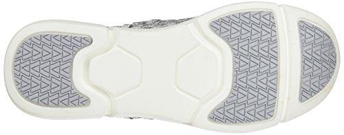 bass3d 041256, Zapatillas para Mujer Plateado (Plata)