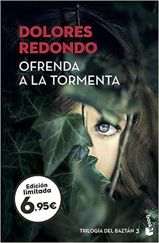 Ofrenda a la tormenta: Trilogía del Baztán 3 Verano 2019: Amazon ...