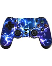 the grafix studio Electric Playstation 4 (Ps4) Controller Sticker / Skin / Decal Ps22