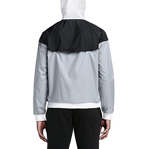 bianco wolf Giacca 679 Nike 727324 Uomo white white Multicolore Grey nero Bianco grigio black PCq8qwSE5