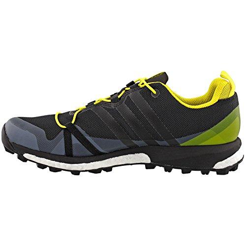 Mens Esterni Adidas Terrex Agravic Grigio Scuro / Nero / Colore Giallo Brillante 10 Di Noi D