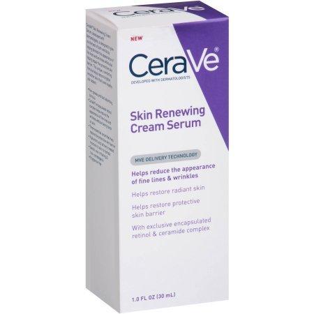 2 Pack Of CeraVe Skin Renewing Cream Serum, 1 fl oz ea (Renewing Serum Eye)