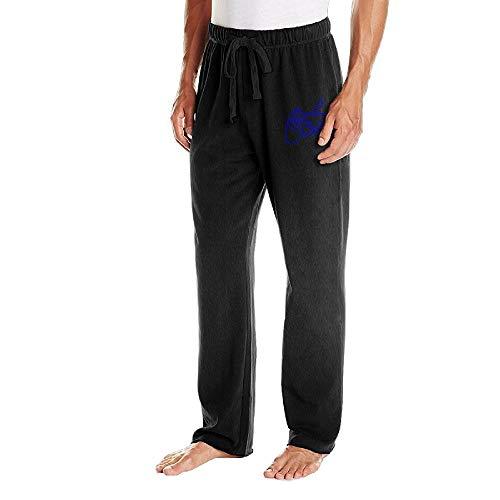 Mens Jogger Sweatpants Playstation Controller Drawstring Pajama Pants