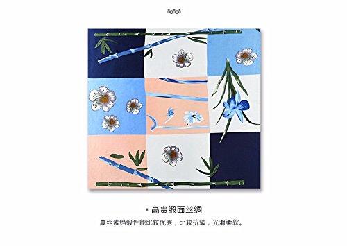 bluee (large towel) Silk Scarf Silk Scarf Silk Scarf Silk Scarf Spring and Summer