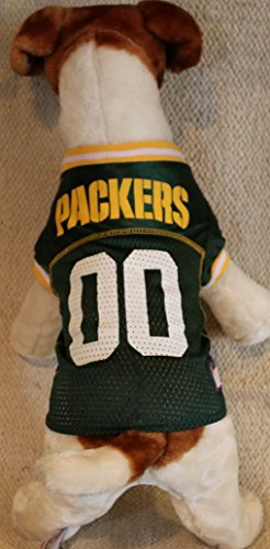 GREEN BAY PACKERS Dog Mesh Jersey ★ ALL SIZES ★ Licensed NFL (XXL)