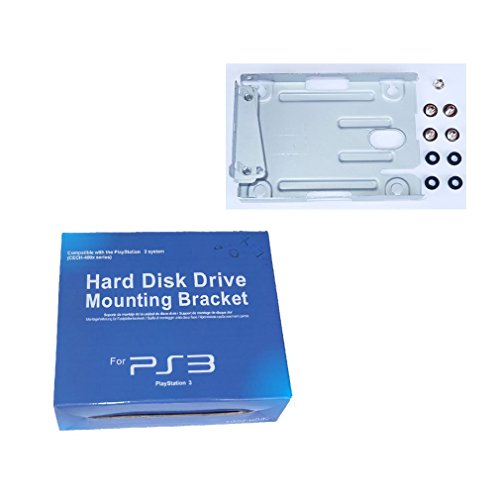 Hard Disk Drive HDD Mounting Bracket Stand Kit Replacement 2.5 for Playstation 3 PS3 Super Slim Console System