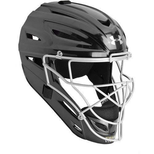 (Under Armour UA Victory Catcher's Helmet OSFA Black)