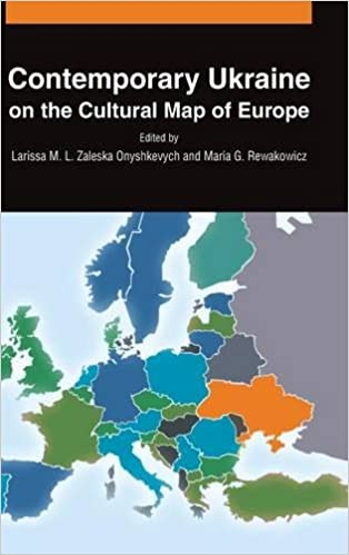 Ukraine On Map Of Europe.Contemporary Ukraine On The Cultural Map Of Europe Larissa M L
