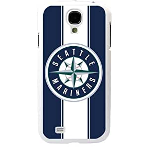 MLB Major League Baseball Seattle Mariners Samsung Galaxy S4 SIV I9500 TPU Soft Black or White case (White)