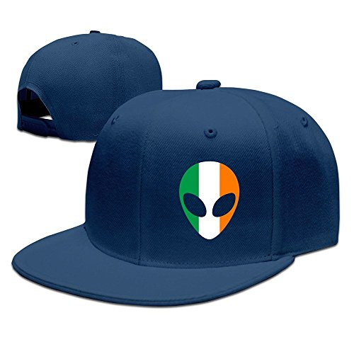Alien Best Costume (MaNeg Ireland Alien Unisex Fashion Cool Adjustable Snapback Baseball Cap Hat One Size)