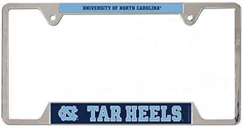 (NCAA North Carolina Tar Heels Metal License Plate Frame)