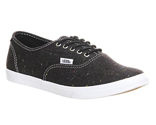 Linen Vans Speckle Authentic Black Speckle Black Authentic Linen Vans Vans qEHOdqZw