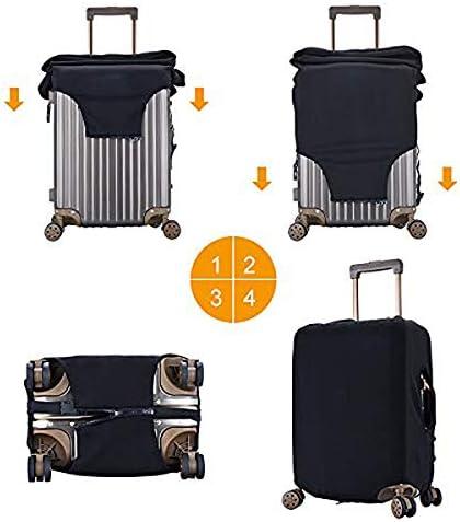 スーツケースカバー キャリーカバー スーパーナチュラル ラゲッジカバー トランクカバー 伸縮素材 かわいい 洗える トラベルダストカバー 荷物カバー 保護カバー 旅行 おしゃれ S M L XL 傷防止 防塵カバー 1枚