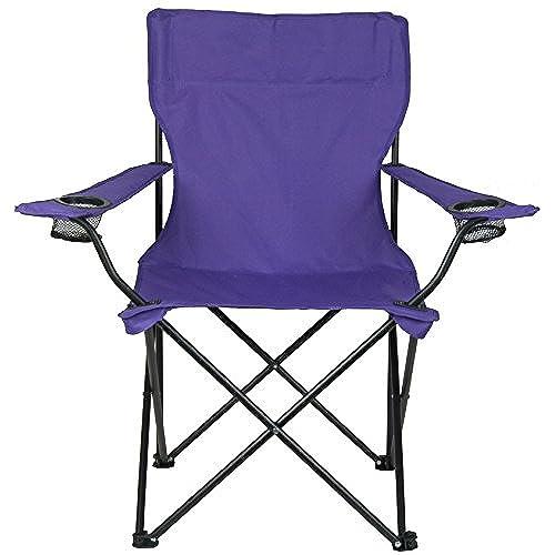 Beautiful Bazaar Folding Armchair   Multiple Colors Available! (Purple)