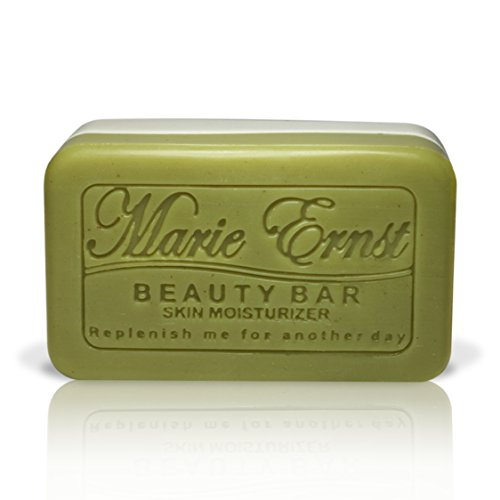 Marie Ernst Pumice Exfoliating Bar Soap with Shea butter, Olive Oil with Hints of Lavender Patchouli, Vegan Bath Soap for Men and Women That Delivers the Ultimate in Luxurious Bathing and Relaxation