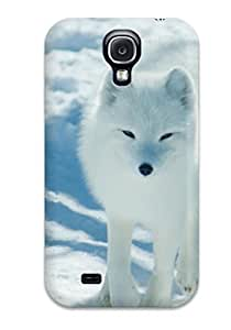 HGCbVgF2060kxdaW Case Cover, Fashionable Galaxy S4 Case - Arctic Foxes