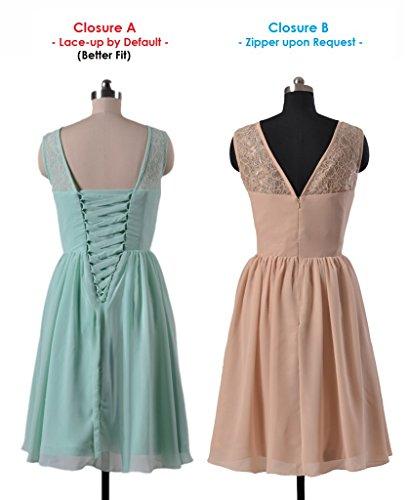 silver Formal Vintage 57 Lace BM2529 Short Dress Dress DaisyFormals Lace Bridesmaid Dress 0ZwZPqg