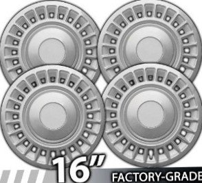 1998-2002 Crown Victoria Grand Marquis Complete Set of All 4 Wheel Covers New