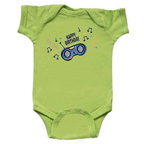 inktastic - Birthday Music Infant Creeper 12 Months Key Lime 2e0