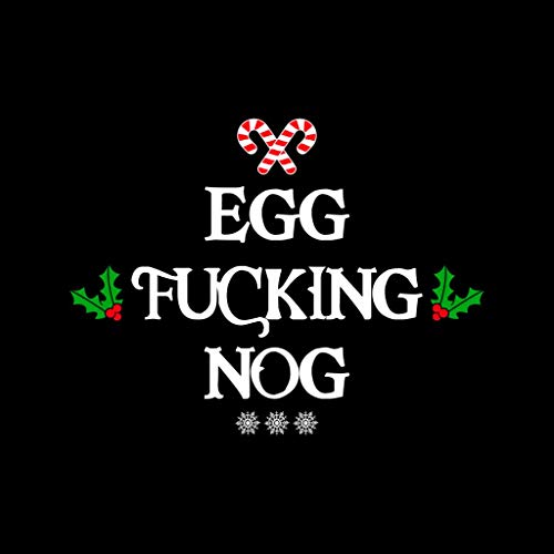 Black Black Black Fucking Egg Christmas Coto7 Hooded Nog Sweatshirt Women's xSEH0wz7qn