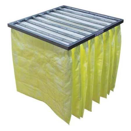 Synthetic Pocket Air Filter, 24x24x22'', MERV 14 (4 pieces)