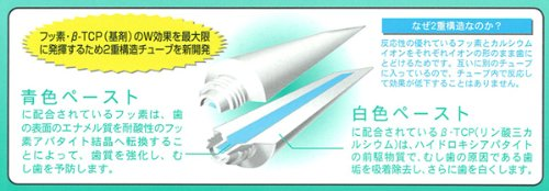 Sampo Seiyaku Dental Pearl W 108g 10 Tube