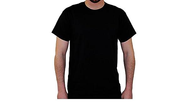 Venta al por mayor Negro Camisetas 100% algodón por amor tendencias (50 Camisetas) perfecto para Everyday Casual Top o para impresión y bordado en blanco ...